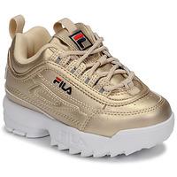 Παπούτσια Κορίτσι Χαμηλά Sneakers Fila DISRUPTOR F INFANTS Gold
