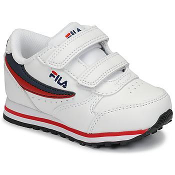 Xαμηλά Sneakers Fila ORBIT VELCRO INFANTS ΣΤΕΛΕΧΟΣ: Συνθετικό και ύφασμα & ΕΠΕΝΔΥΣΗ: Ύφασμα & ΕΣ. ΣΟΛΑ: Ύφασμα & ΕΞ. ΣΟΛΑ: Συνθετικό