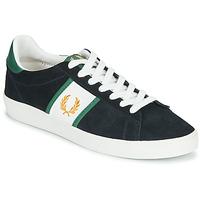 Παπούτσια Άνδρας Χαμηλά Sneakers Fred Perry SPENCER SUEDE / TIPPING Μπλέ