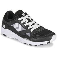Παπούτσια Άνδρας Χαμηλά Sneakers Hummel EDMONTON 3S LEATHER Black