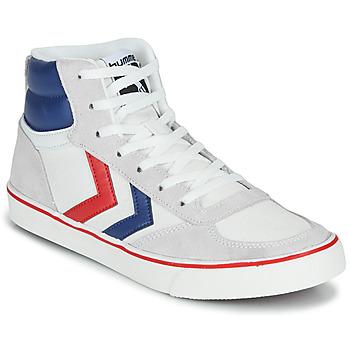 Παπούτσια Ψηλά Sneakers Hummel STADIL HIGH OGC 3.0 Άσπρο / Μπλέ / Red