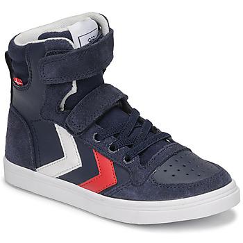 Παπούτσια Παιδί Ψηλά Sneakers Hummel SLIMMER STADIL HIGH JR Μπλέ