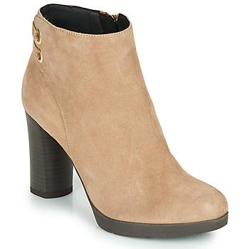 Παπούτσια Γυναίκα Μποτίνια Geox ANYLLA HIGH Beige