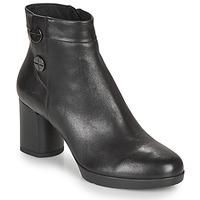Παπούτσια Γυναίκα Μποτίνια Geox ANYLLA MID Black