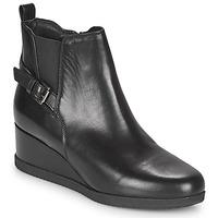 Παπούτσια Γυναίκα Μποτίνια Geox ANYLLA WEDGE Black