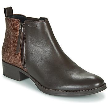 Παπούτσια Γυναίκα Μποτίνια Geox LACEYIN Brown