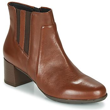 Παπούτσια Γυναίκα Μποτίνια Geox NEW ANNYA MID Brown