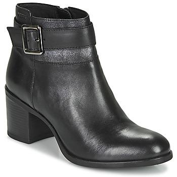 Παπούτσια Γυναίκα Μποτίνια Geox NEW ASHEEL Black