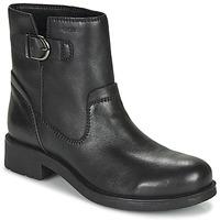 Παπούτσια Γυναίκα Μπότες Geox RAWELLE Black