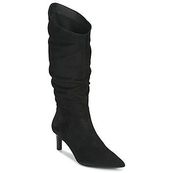 Παπούτσια Γυναίκα Μπότες για την πόλη Geox BIBBIANA Black