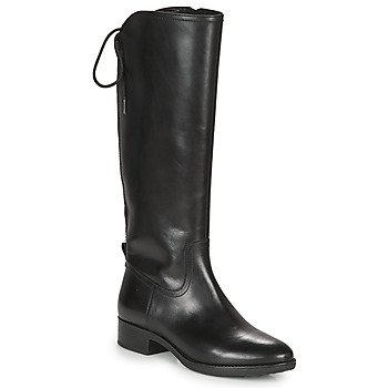 Παπούτσια Γυναίκα Μπότες για την πόλη Geox FELICITY Black