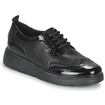 Παπούτσια Γυναίκα Derby Geox ARLARA Black