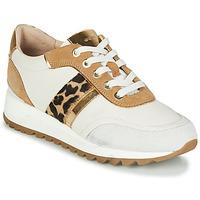 Παπούτσια Γυναίκα Χαμηλά Sneakers Geox TABELYA Άσπρο / Leopard
