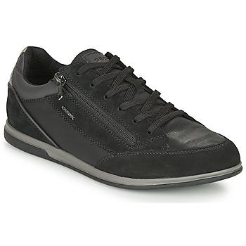 Xαμηλά Sneakers Geox RENAN ΣΤΕΛΕΧΟΣ: Δέρμα και συνθετικό & ΕΠΕΝΔΥΣΗ: Ύφασμα & ΕΣ. ΣΟΛΑ: & ΕΞ. ΣΟΛΑ: Καουτσούκ