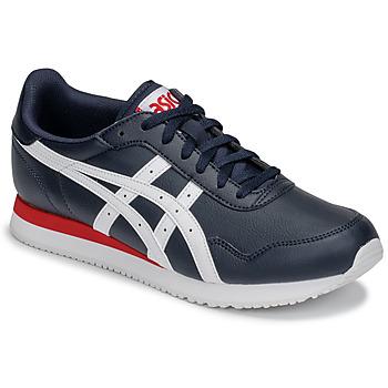 Παπούτσια Άνδρας Χαμηλά Sneakers Asics TIGER RUNNER Μπλέ / Άσπρο / Red