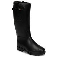 Παπούτσια Γυναίκα Μπότες βροχής Aigle AIGLENTINE FUR Black