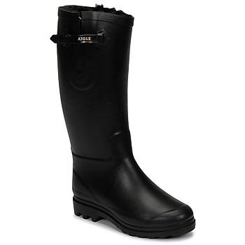 Παπούτσια Γυναίκα Snow boots Aigle AIGLENTINE FUR Black