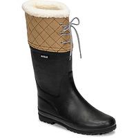 Παπούτσια Γυναίκα Snow boots Aigle POLKA GIBOULEE Marine / Beige