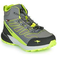 Παπούτσια Αγόρι Ψηλά Sneakers Kangaroos K-SCOUT RTX Grey / Green