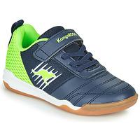 Παπούτσια Αγόρι Χαμηλά Sneakers Kangaroos SUPER COURT EV Μπλέ / Green