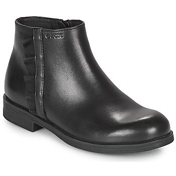 Μπότες Geox AGGATA ΣΤΕΛΕΧΟΣ: Δέρμα & ΕΠΕΝΔΥΣΗ: Ύφασμα & ΕΣ. ΣΟΛΑ: Ύφασμα & ΕΞ. ΣΟΛΑ: Συνθετικό