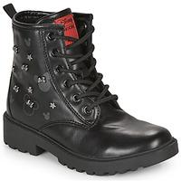 Παπούτσια Κορίτσι Μπότες Geox CASEY Black