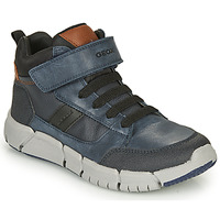 Παπούτσια Αγόρι Μπότες Geox FLEXYPER Marine / Black