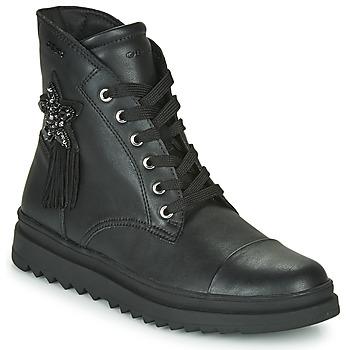Παπούτσια Κορίτσι Μπότες Geox GILLYJAW Black