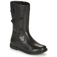 Παπούτσια Κορίτσι Μπότες για την πόλη Geox SHAWNTEL Black