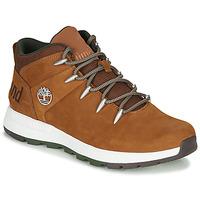 Παπούτσια Άνδρας Μπότες Timberland SPRINT TREKKER MID Brown
