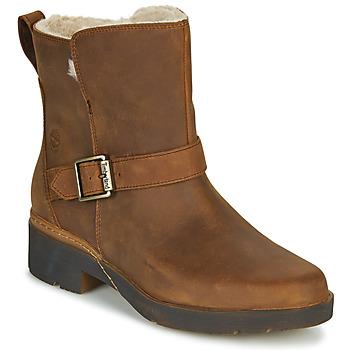 Παπούτσια Γυναίκα Μπότες Timberland GRACEYN BIKER WP Brown