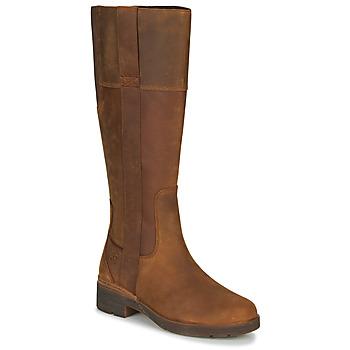Παπούτσια Γυναίκα Μπότες για την πόλη Timberland GRACEYNTALLSIDEZIPWP Brown