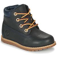 Παπούτσια Παιδί Μπότες Timberland POKEY PINE 6IN BOOT WITH Μπλέ