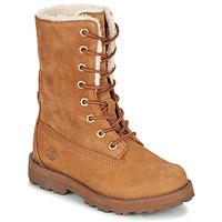 Παπούτσια Παιδί Μπότες Timberland COURMA KID SHRL RT Brown