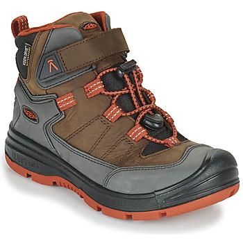Παπούτσια Παιδί Πεζοπορίας Keen REDWOOD MID WP Brown