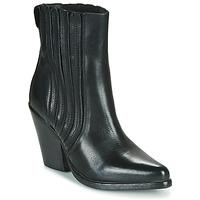 Παπούτσια Γυναίκα Μποτίνια Moma CROSBY Black