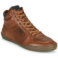 Παπούτσια Άνδρας Ψηλά Sneakers Kickers JEXPLOREHIGH Brown
