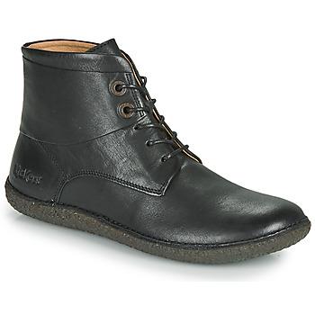 Παπούτσια Γυναίκα Μπότες Kickers HOBBYTWO Black