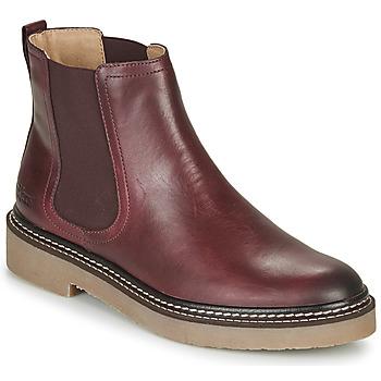 Παπούτσια Γυναίκα Μπότες Kickers OXFORDCHIC Red