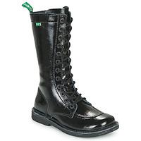 Παπούτσια Γυναίκα Μπότες για την πόλη Kickers MEETKIKNEW Black / Verni