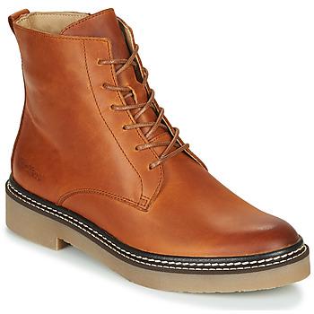 Παπούτσια Γυναίκα Μπότες Kickers OXIGENO Camel / Orange