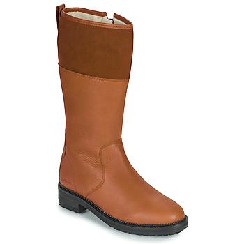 Παπούτσια Γυναίκα Μπότες για την πόλη Kickers WATHIGH Camel