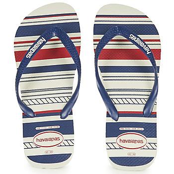 Παπούτσια Άνδρας Σαγιονάρες Havaianas Top Nautical Μπλέ / Red