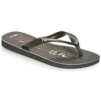 Παπούτσια Σαγιονάρες Havaianas TOP LOGOMANIA Black