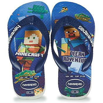 Παπούτσια Αγόρι Σαγιονάρες Havaianas Kids Minecraft Μπλέ