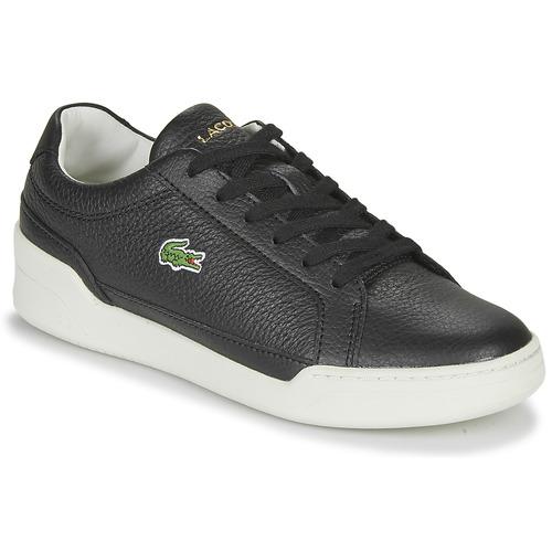 Παπούτσια Γυναίκα Χαμηλά Sneakers Lacoste CHALLENGE 0120 1 SFA Black / Άσπρο