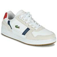 Παπούτσια Γυναίκα Χαμηλά Sneakers Lacoste T-CLIP 0120 2 SFA Άσπρο / Marine / Red