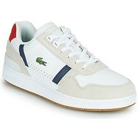 Παπούτσια Άνδρας Χαμηλά Sneakers Lacoste T-CLIP 0120 2 SMA Άσπρο / Marine / Red