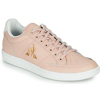 Παπούτσια Γυναίκα Χαμηλά Sneakers Le Coq Sportif COURT CLAY W Ροζ