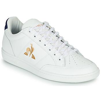 Παπούτσια Γυναίκα Χαμηλά Sneakers Le Coq Sportif COURT CLAY W Άσπρο / Μπλέ